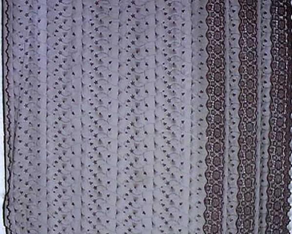 1m Lurex-Tüll 1,25m breit Farbe: Weinrot2