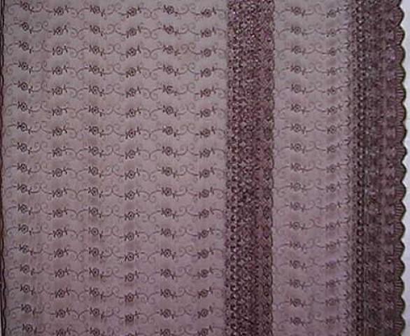 1m Lurex-Tüll 1,25m breit Farbe: Weinrot6