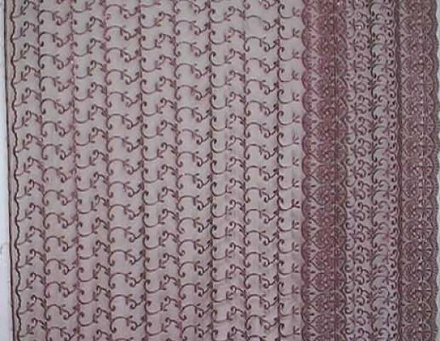1m Lurex-Tüll 1,25m breit Farbe: Weinrot7