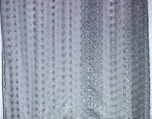 1m Lurex-Tüll 1,25m breit Farbe: Anthrazit3