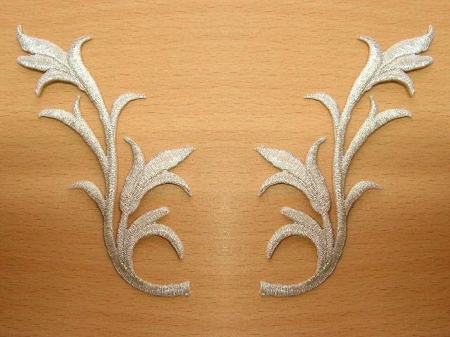 1 Paar Applikationen Farbe: Silber - höhere Qualität