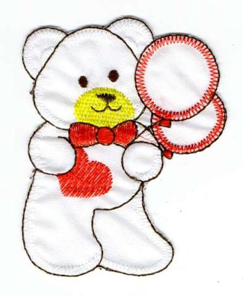 Teddybär 7 x 8 cm AA470-21