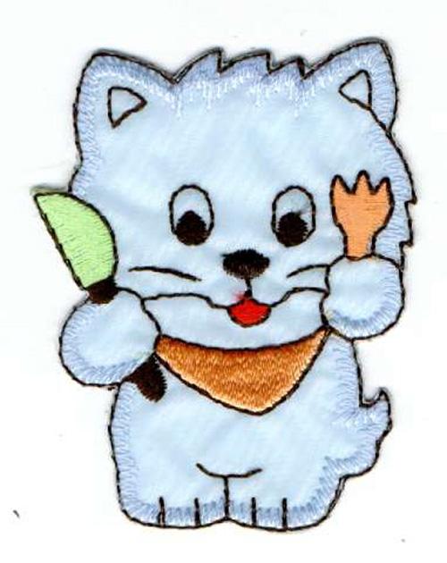 Katze 5,5 x7 cm AA470-37
