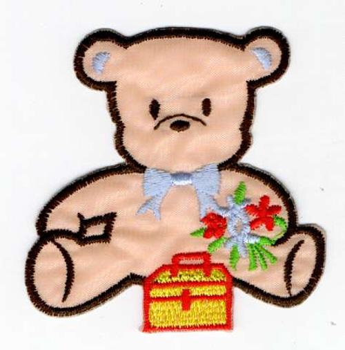 Teddybär 6,5 x 6,5 cm AA470-53