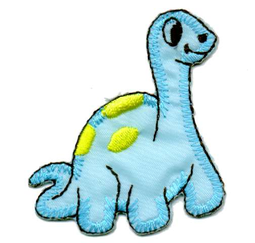 1 Applikation Schildkröte 5 x 5,5cm Farbe: Blau AA469-64