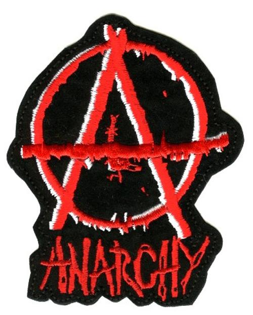 Applikation Tribal Anarchy 8,5 x 10,5 cm AF300-30