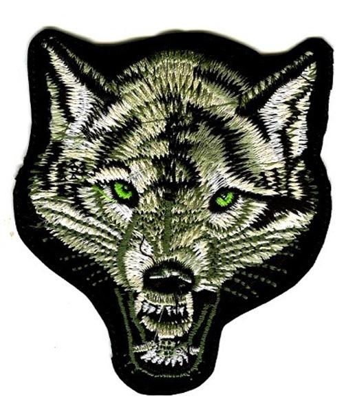 Applikation Patch Sticker Wolf 9 x 10 cm AA513-1