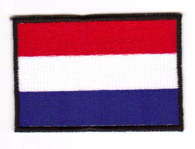 1 Aufnäher Sticker Patch Flagge Niederlande 3 x 2cm