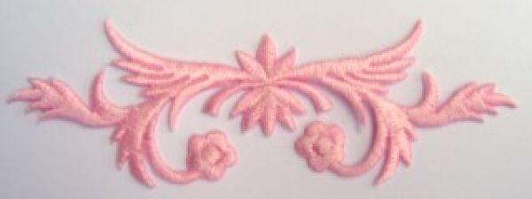 historische Applikation Sticker Patch Tribal Farbe: Rosa