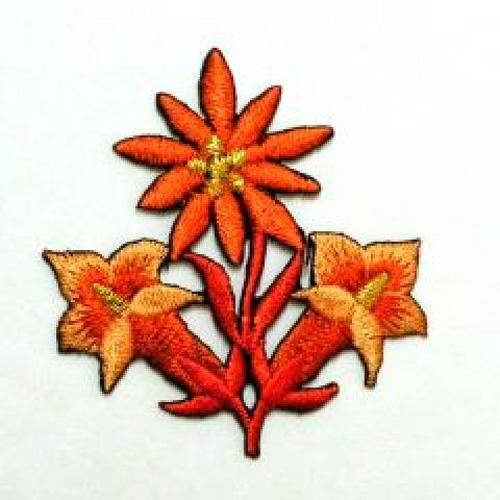 1 Stück Edelweiss-Applikationen Wiesn AA341-31