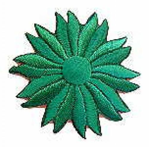 Margeriten-Applikationen Durchmesser 5cm AA106-12 Farbe: Filosa