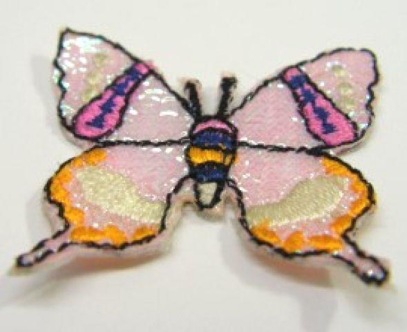 1 Stück Applikation Patch Schmetterlinge AF76-1
