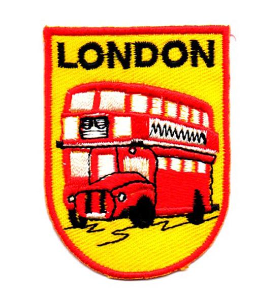 Applikation Patch Flagge London 5 x 7cm