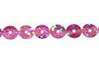 81m Paillettenband zum Aufbügeln 5mm breit Farbe: Light Purple