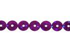 81m Paillettenband zum Aufbügeln 5mm breit Farbe: Dark Purple