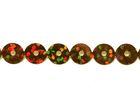 81m Paillettenband zum Aufbügeln 5mm breit Farbe: Braun