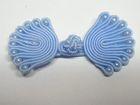 Posamentenverschlüsse mit Perlen AA300-25 Farbe: Hellblau