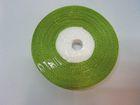12 Rollen Satinband 13mm breit AA140-13 Farbe: Grasgrün