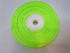 12 Rollen Satinband 13mm breit AA140-14 Farbe: Neongrün