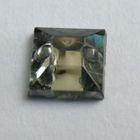 1000 Polyacrylsteine Viereck 6x6mm Farbe: Black Diamond