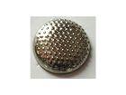 100 Bügelnieten rund Ø 9mm Farbe: Silber CHAN3-8