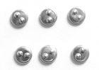 100 Bügelnieten rund Ø 5mm Farbe: Silber CHAN3-16