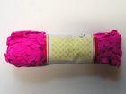 B-Ware!! 20m Zick-Zack-Borte Zackenlitze 4mm breit Farbe: Fuchsia