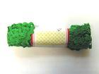 B-Ware!! 20m Zick-Zack-Borte Zackenlitze 5mm breit Farbe: Grün