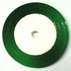 22,75m Satinband 9mm breit Farbe: Grün