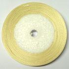 22,75m Satinband 9mm breit Farbe: Elfenbein