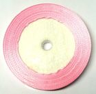 22,75m Satinband 9mm breit Farbe: Rosa hell