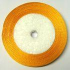 22,75m Satinband 9mm breit Farbe: Gelb-Orange
