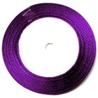 22,75m Satinband 9mm breit Farbe: Lila