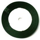 10 Rollen a 22,75m Satinband 9mm breit Farbe: Nachtgrün