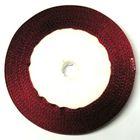 22,75m Satinband 9mm breit Farbe: Bordeaux
