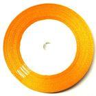 22,75m Satinband 9mm breit Farbe: Orange