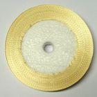 22,75m Satinband 9mm breit Farbe: Hellbraun