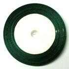 22,75m Satinband 25mm breit Farbe: Dunkelgrün