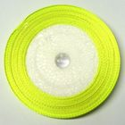 22,75m Satinband 18mm breit Farbe: Neongrün