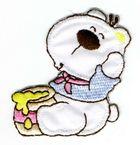 Teddybär 5,5 x 5,5 cm AA470-11