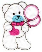 Teddybär 7 x 8 cm AA470-20