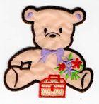 Teddybär 6,5 x 6,5 cm AA470-52