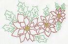 B-Ware!! 1x Bügelbild Bügelmotiv Blumen 22 x 14cm