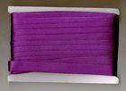 32m Satinschrägband 15mm breit 3-fach gefalzt Farbe: Lila