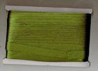 32m Satinschrägband 15mm 3-fach gefalzt Farbe: Zedergrün hell