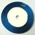 22,75m Satinband 6mm breit Farbe: Türkis