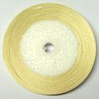 22,75m Satinband 12mm breit Farbe: Elfenbein
