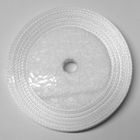 10 Rollen a 22,75m Satinband 12mm breit Farbe: Weiss