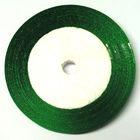 10 Rollen a 22,75m Satinband 12mm breit Farbe: Grün