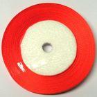 22,75m Satinband 25mm breit Farbe: kräftiges Orange